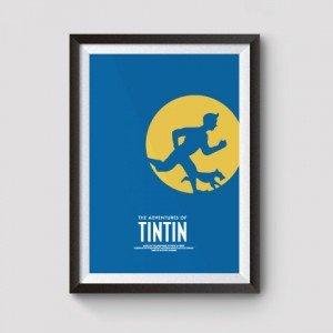 tin tin film posters