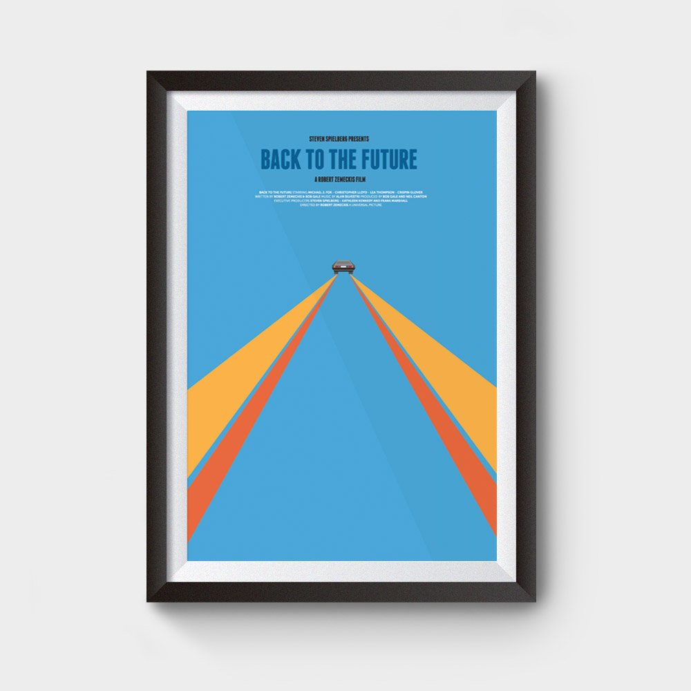 back to the future movie posters for sale