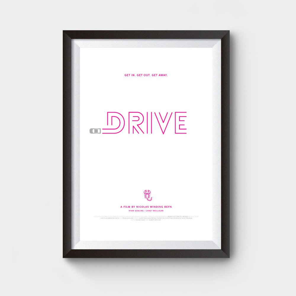 drive movie posters for sale