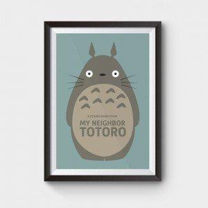 my neighbor totoro poster