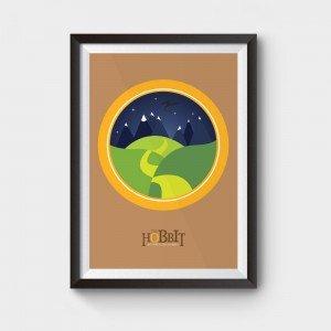 the hobbit poster an unexpected journey print avialble to buy