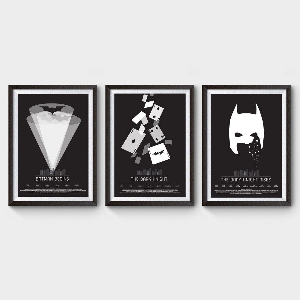 Batman Trilogy Movie Poster