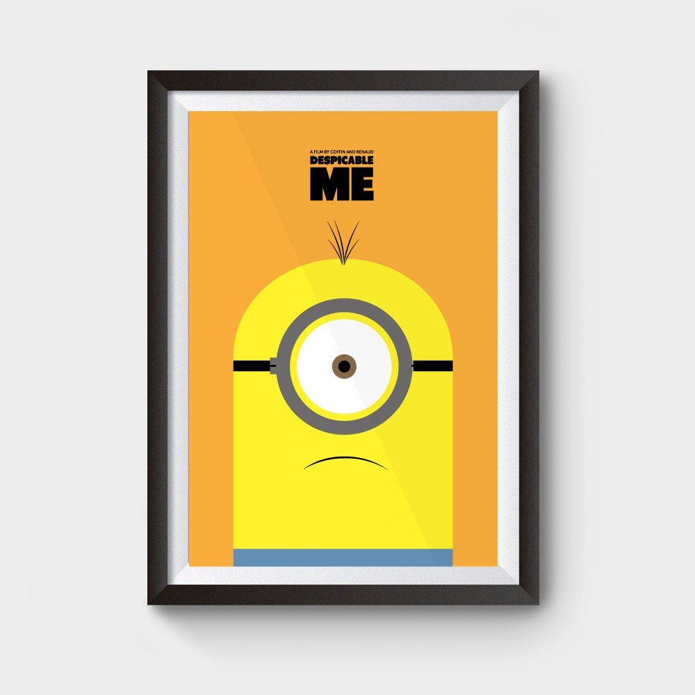 Despicable Me Stuart Movie Poster