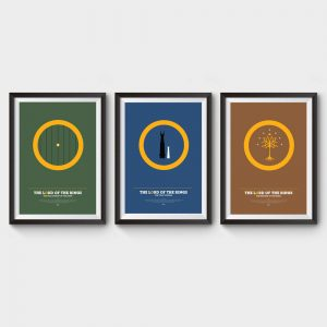 Lord of the Rings Collection Movie Posters