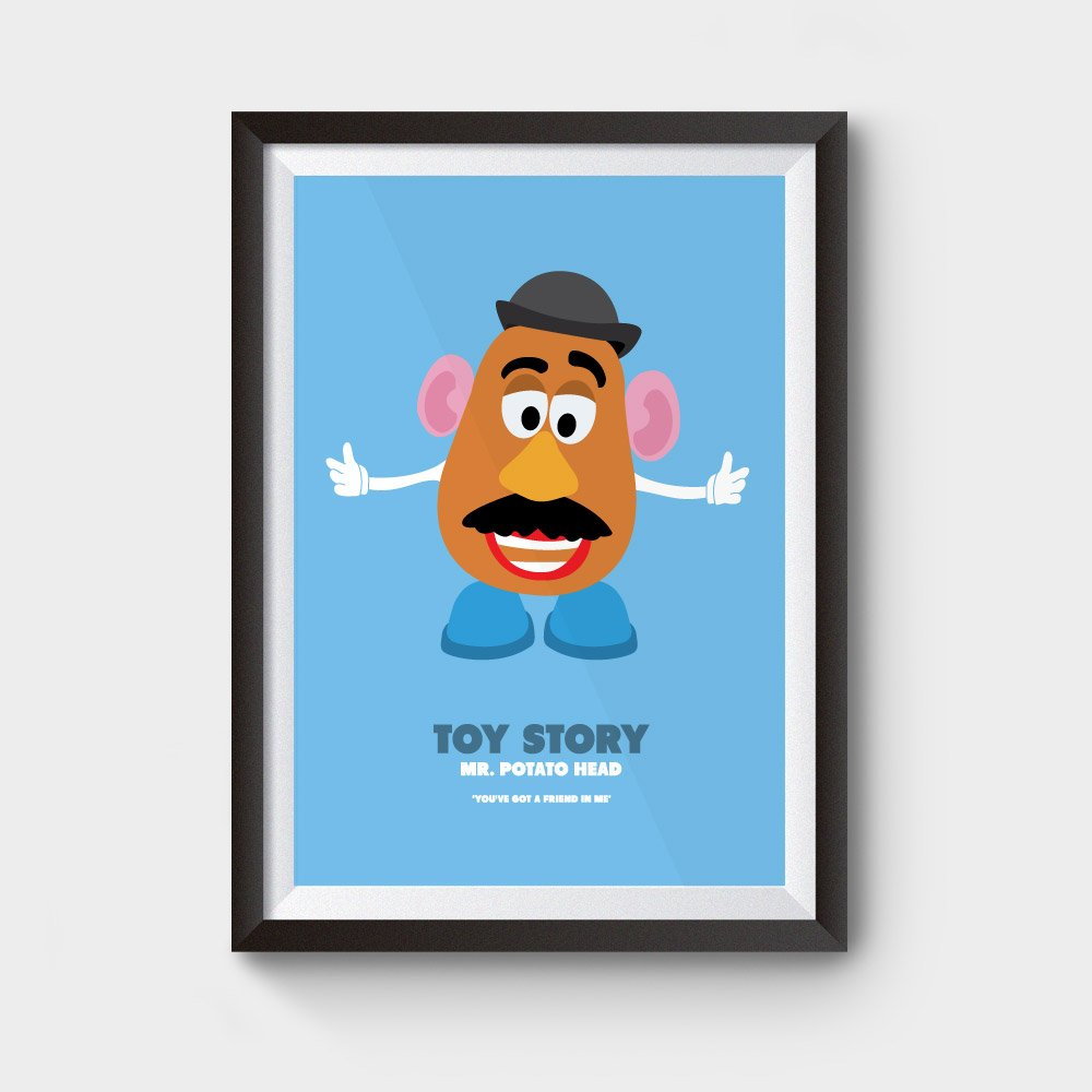 mr potato head poster