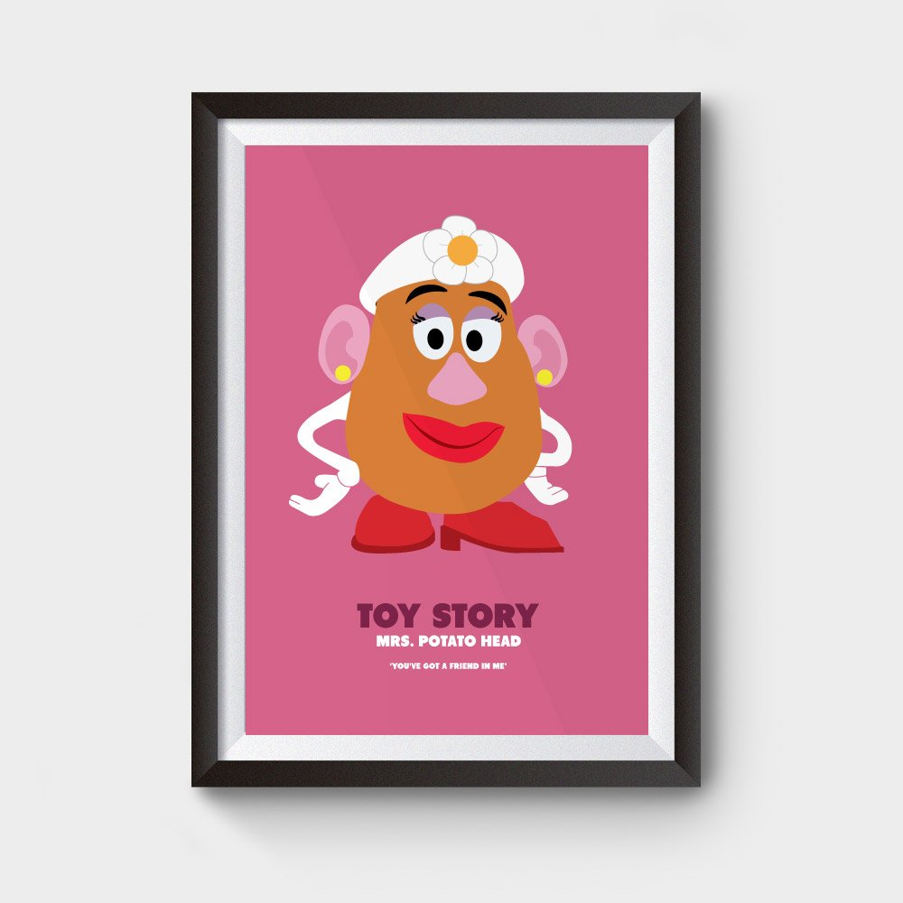 mrs potato head poster