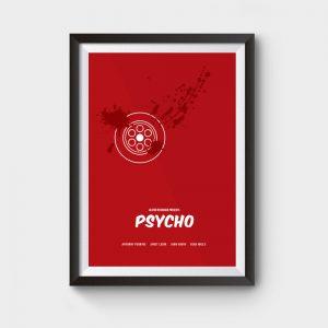 psycho movie poster