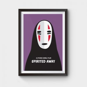 spirited away poster studio ghibli