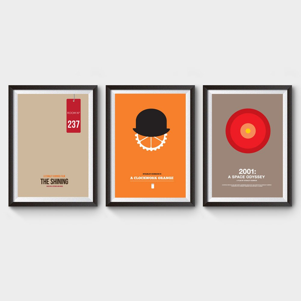 Stanley Kubrick Movie Posters