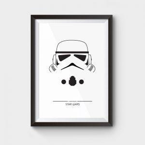 star wars stormtrooper movie poster
