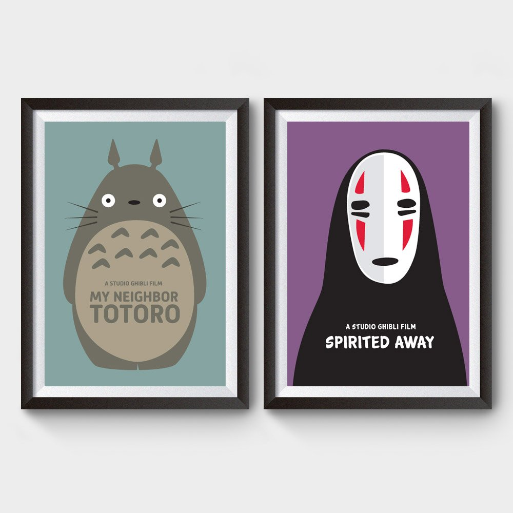 Neighbor Totoro Spirited Away