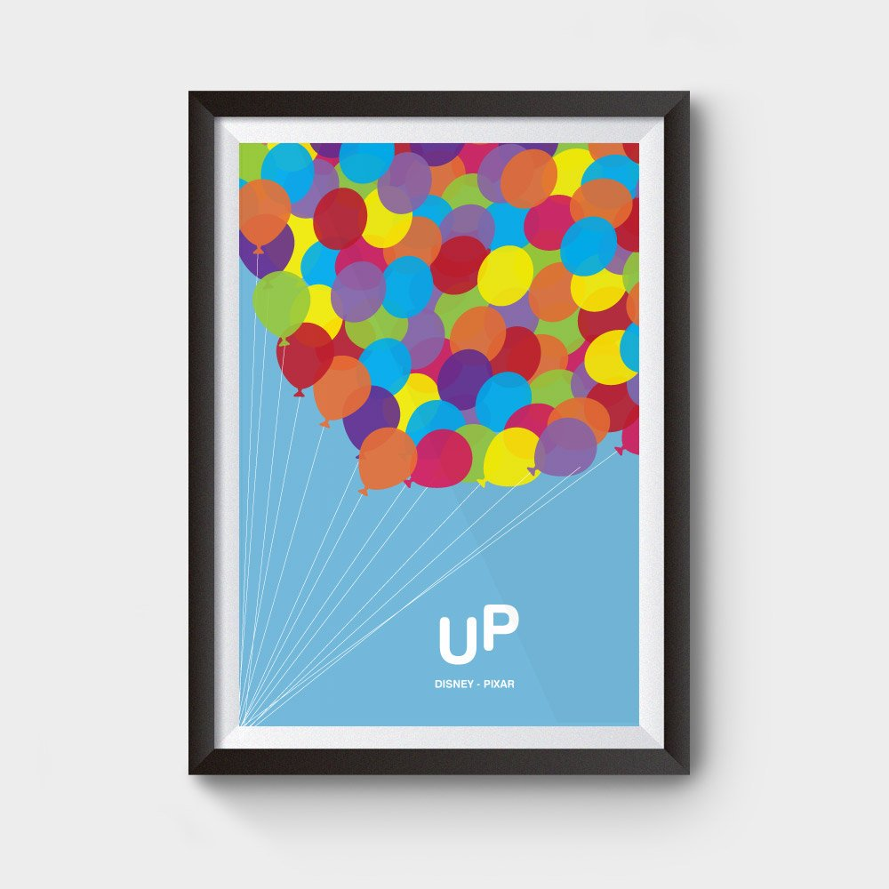 Up Disney Pixar Movie Poster