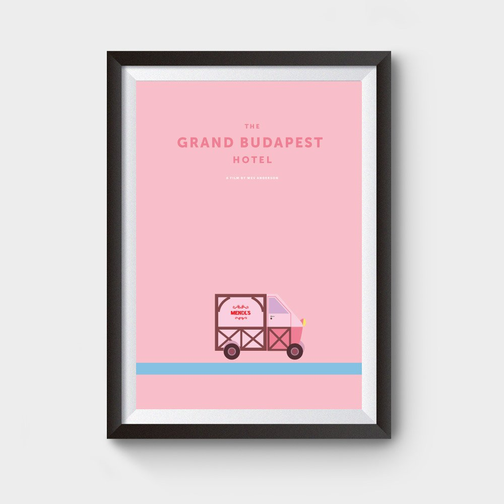 The grand budapest hotel movie posters for sale