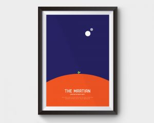 martian movie poster