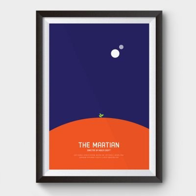 martian movie poster