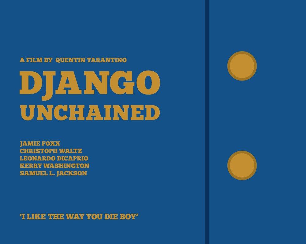 Django Unchained Tarantino Poster