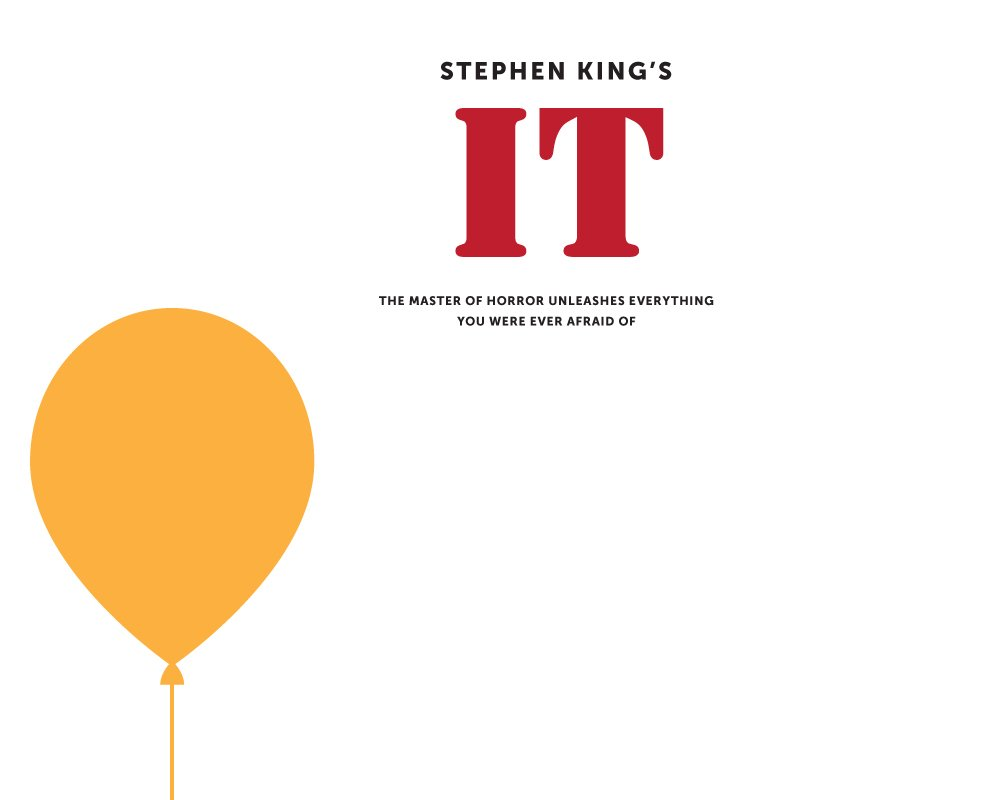 It Stephen King poster