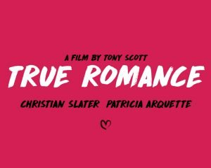true romance movie poster