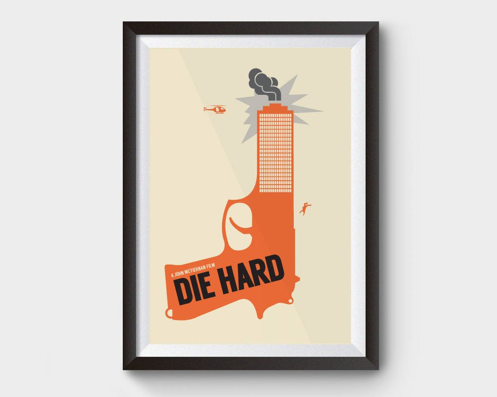 die hard movie poster