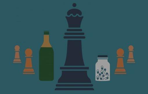 the queens gambit poster