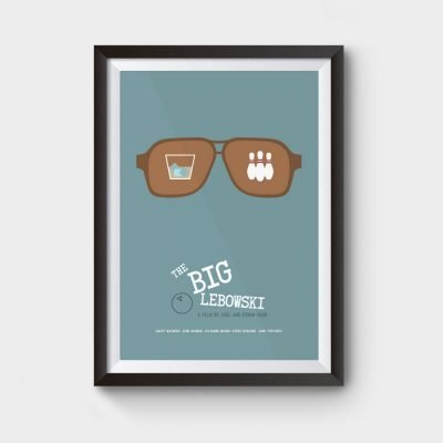 Big lebowski movie poster