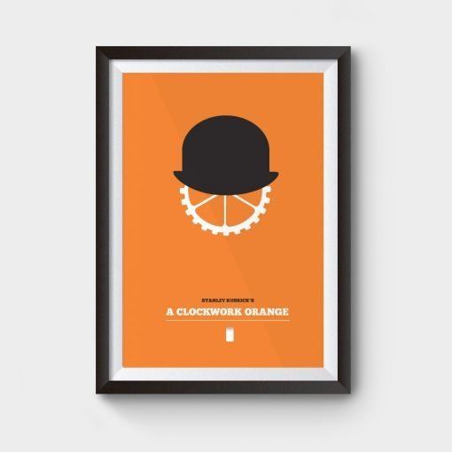 A clockwork orange poster available to buy