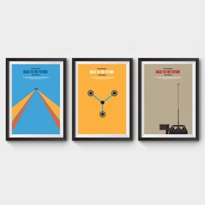 Back To The Future Trilogy Movie Posters