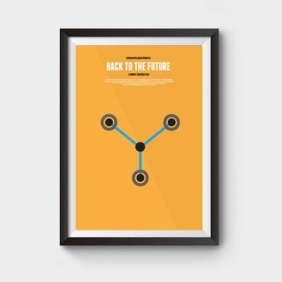 Back to The Future Flux Poster