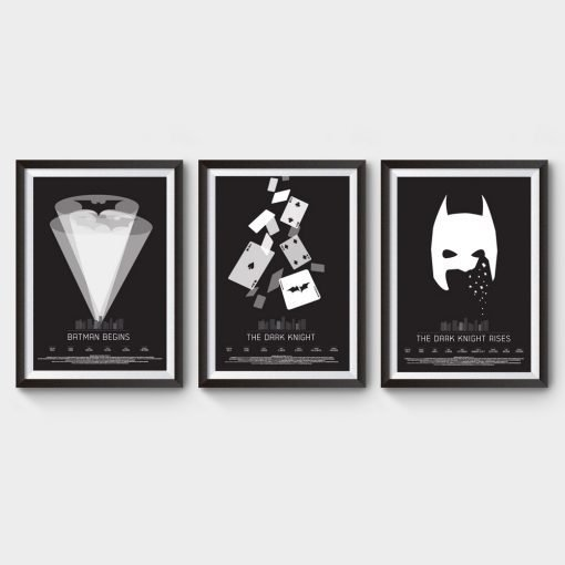 Batman Trilogy Movie Poster
