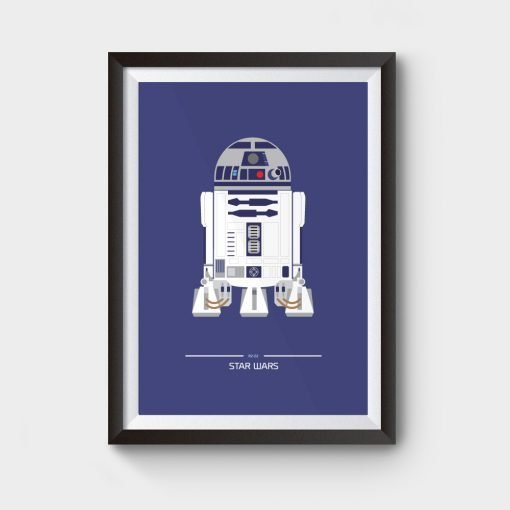star wars r2d2 movie poster