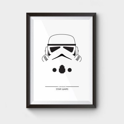 star wars stormtrooper movie poster
