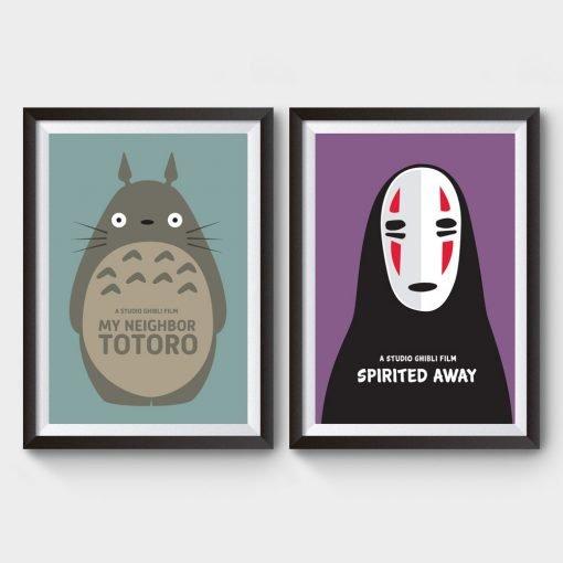 Neighbor Totoro Spirited Away