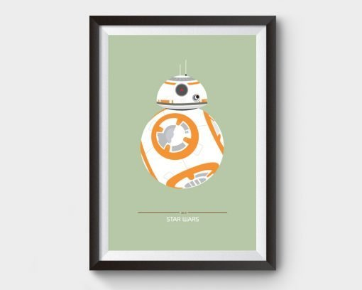 BB8 Star Wars Film Poster