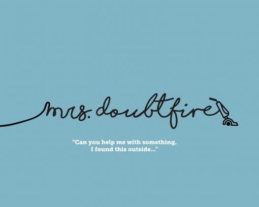 Mrs Doubtfire Movie Poster