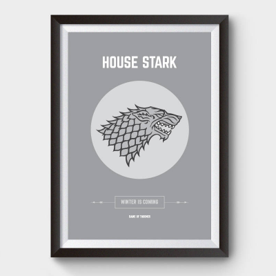 Game of Thrones Stark Poster