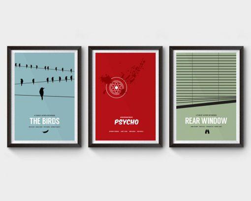 Hitchcock Movie Posters